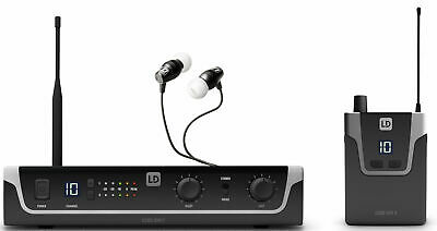 LD SYSTEMS U306 IEM HP Sistema de Monitoraje inalámbrico In-Ear