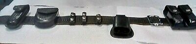 DON HUME B101-48 Police Duty Belt Size 48 Safariland Western Holder Pouchs Cases
