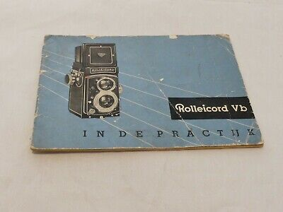 Rollei SL 81 82 85 In Practical Use Instruction Manual Booklet Guide