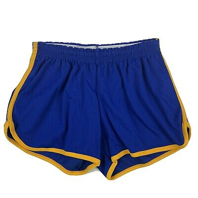 VTG 70s Russell Athletic Mens XL Shorts Running Jogging Sprint Gym Booty Striped