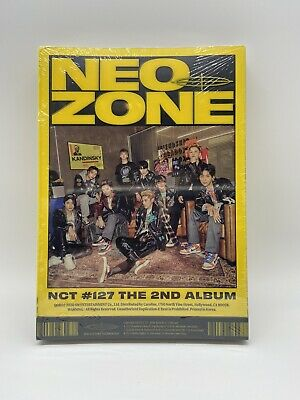 NEO Zone NCT #127 Second Album Brand New Sealed