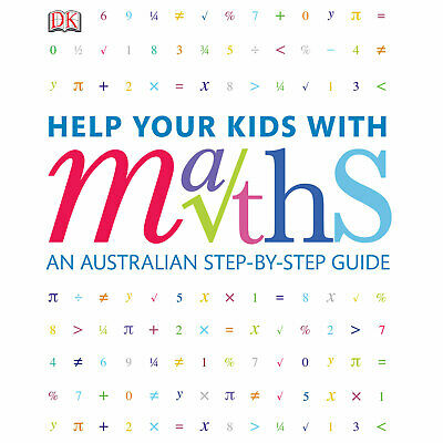 NEW Help Your Kids With Maths By DK Publishing Paperback Home Education Study