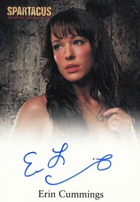 Spartacus Vengeance Auto Autograph Card Signed by Janine Burchett as Domitia
