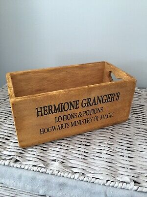Harry Potter -Hermione Granger -Wooden Crate