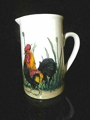 Kent Pottery Rooster Chicken Small Pitcher Large Creamer