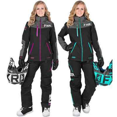FXR Racing Elevation Dri-Link 2 Piece Womens Winter Sport Snowmobile Monosuit