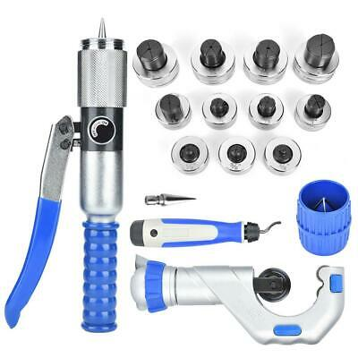 Hydraulic Tube Expander Pipe Flaring Tool for U-Type Copper Pipe 10-42mm CT300AL