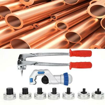 Manual Tube Expander Pipe Flaring Tool for Copper/Aluminum Pipes 10-28mm CT-100A