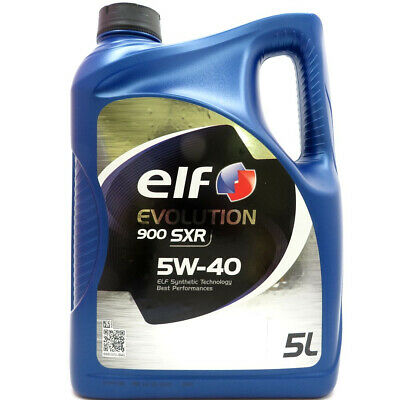 5 Liter elf EVOLUTION 900 SXR 5W-40