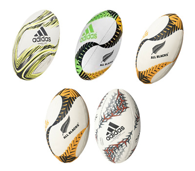 Adidas Rugby Ball New Zealand All Blacks Rugby Union Ball Size 5 New