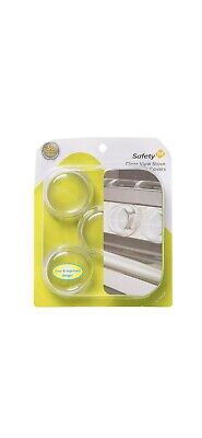Safety First Clear Stove Knobs Cover Baby proof