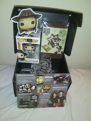 Full AMC The Walking Dead Supply Drop Box October 2019 JUDITH GRIMES FUNKO POP