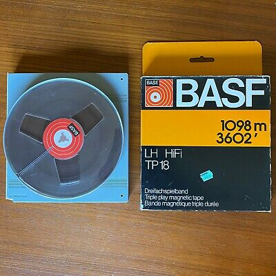 2 X Basf Tp18 Reel Tapes - Unused - As New