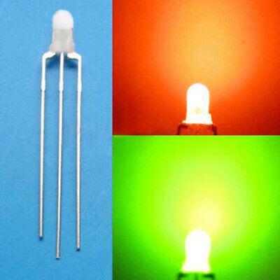 Yellow LED Light Bulb Bright Diode Diffuse JG Blue 100x 5mm White Green Red