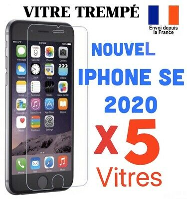 VERRE TREMPE IPHONE VITRE PROTECTION ECRAN SE 2020 - Nouvel Iphone SE 2020