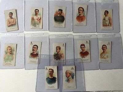 1888 N28 (1), N29 1888 (11) Allen & Ginter World's Champion All With Back Damage