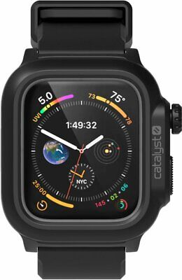 Catalyst - Protective Waterproof Case for Apple Watch™ 44mm - Stealth Black 🔥