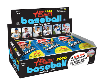 2020 Topps Heritage Lot Complete Your Set You Pick 25 Base Cards 1-400 from list