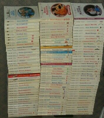 HUGE Lot of 120 HARLEQUIN PRESENTS Romance Paperbacks from the 1990s