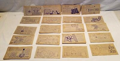 Lot of 64 Assorted Vintage 1946 Nabisco Toytown Carnival Cards