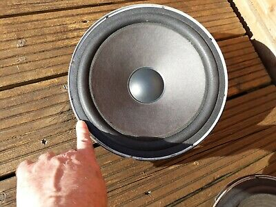 "JBL type 310 10"" Bass Drivers refoamed"