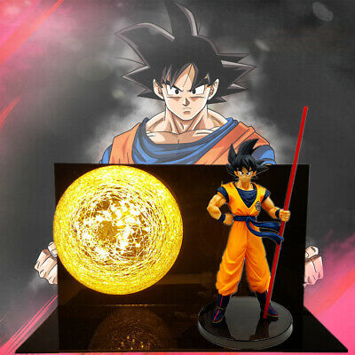 Dragon Ball Z Goku Vegeta Figure Collection LED Table Lamp Boys Birthday Gift UK