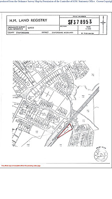 Former Railway Yard in Staffordshire 0.71 acres For Sale