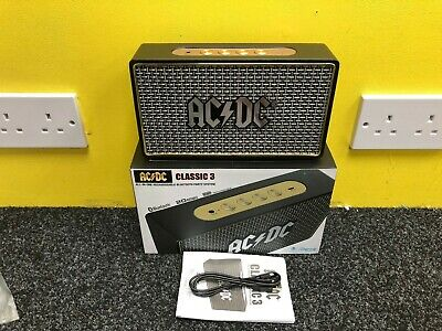 AC/DC Classic 3 By iDance Portable Party Bluetooth Speaker