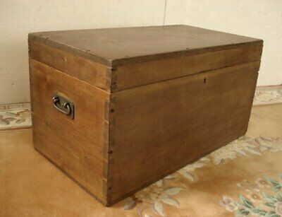 Solid Hardwood Chest - large proportions