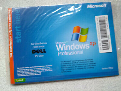 Genuine Dell Microsoft Windows XP Professional Edition SP2 CD Disk+Booklet