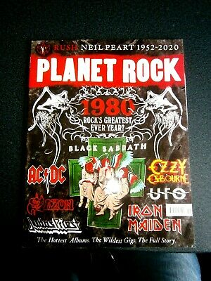 Planet Rock Magazine Issue 19 (new) 2020  1980 Rock's Greatest Ever Year?