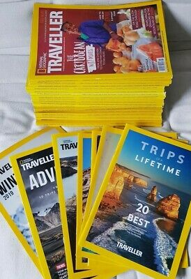 18 National Geographic Traveller & Food magazines 2017, 2018 + 7 supplements