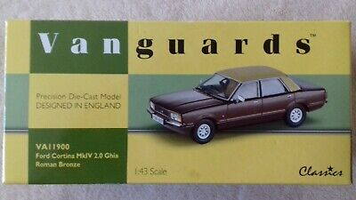 Vanguards Ford Cortina mk4 Ghia