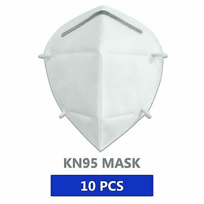 10 Pieces KN95 Face Mask Mouth Cover  Ships same day from NY USA 10PCS Excellent