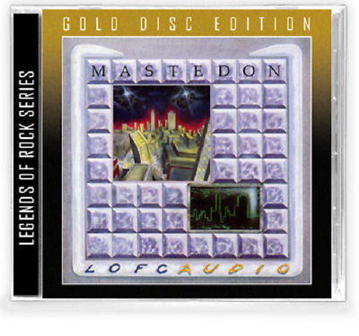 MASTEDON - Lofcaudio (NEW*LIM.GOLD DISC*US WHITE AOR/ROCK*JOURNEY*GIANT)