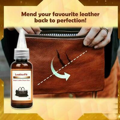 Leather Repair Kit Filler Compound Restorer Color Couches Chairs Seat Car R8X2
