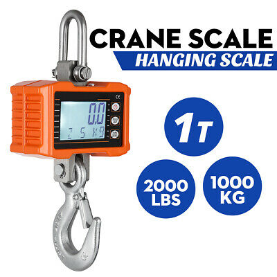 Crane Scale 300Kg Electronic Mini Portable Digital Industrial Hook Hanging Au