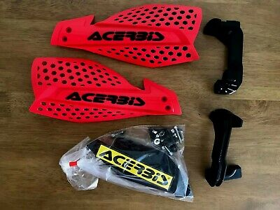 New Acerbis X - Ultimate  Universal Adjustable Hand Guards & Fittings Red/Black