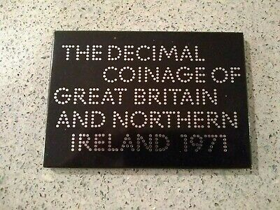 1971 The Decimal Coinage of Great Britain and Northern Ireland Proof Set