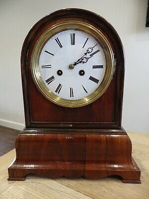 Double Fusee Bracket Clock Very Early From Black Forest/France Stunning Clock