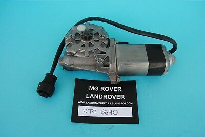 Landrover Rtc6640 - Rr Classic, Discovery 1, Genuine Motor Window Lift Front