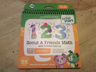 Leap Frog Leap Start Scout & Friends - Math Level 1 Pre School 40 Activities
