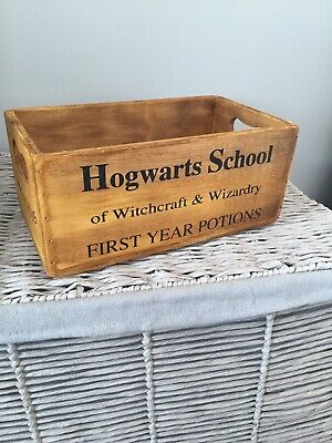 Harry Potter -Wooden Crate