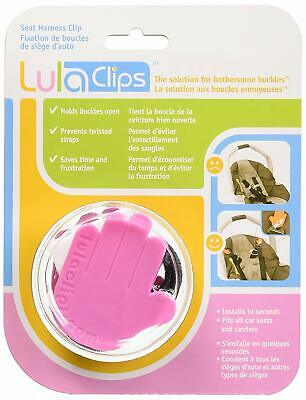 LulaClips Baby Car Seat Harness Clips (2-Pack)