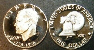 A Top Ike Source in the USA 1976-S Clad Type 2 Eisenhower Dollar PCGS PR69DCAM