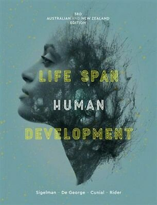 NEW Life Span Human Development - 3rd Edition By Carol K. Sigelman Paperback