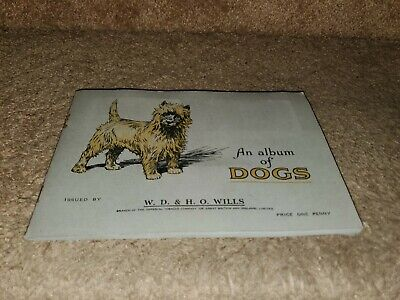 1937 Wills Cigarettes Dog Card Set Of 50 In Original Album