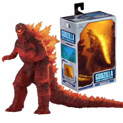 """Burning Godzilla King of The Monsters 12"""" Head to Tail Action Figure Model"""