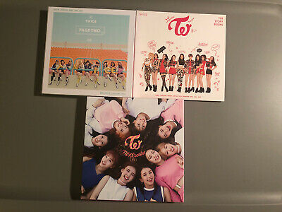 Twice Thailand Albums No Photocard Page Two The Story Begins Twicecoaster