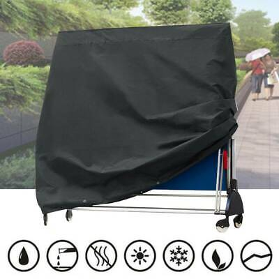 Black Waterproof Ping Pong Table Storage Table Tennis Sheet Protector Cover 2019